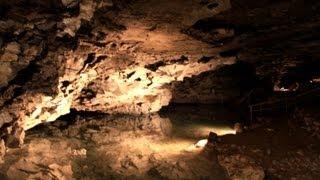 видео Кунгурская пещера в России