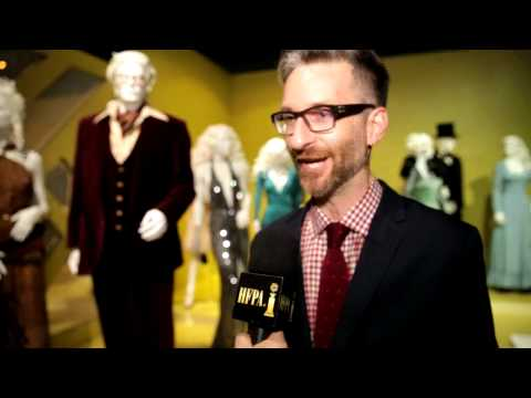 "Michael Wilkinson, Costume Designer for ""American Hustle"" HFPA Exclusive"