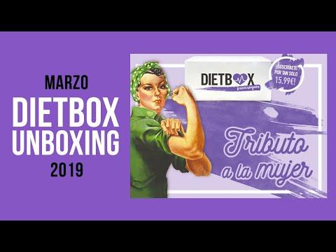 Dietbox Marzo 2019 - Caja Especial Tributo a la Mujer