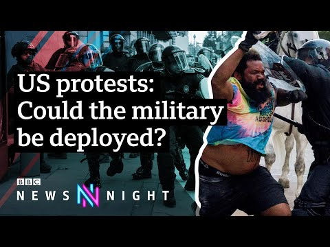 What's Next? US Protests Continue After The Death Of George Floyd – BBC Newsnight