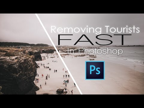 Remove Tourists From Your Travel Photos FAST