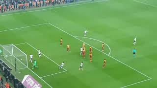 Beşiktaş 3 Evkur Yeni Malatyaspor 1 | Quaresma Frikik Golü Taraftar Çekimi