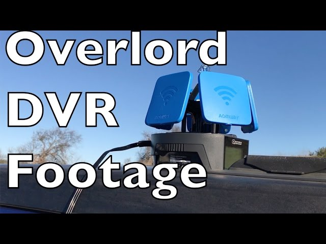 Quanum Overlord DVR Footage