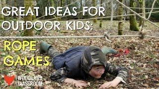 Great Ideas for Outdoor Kids: Rope Games