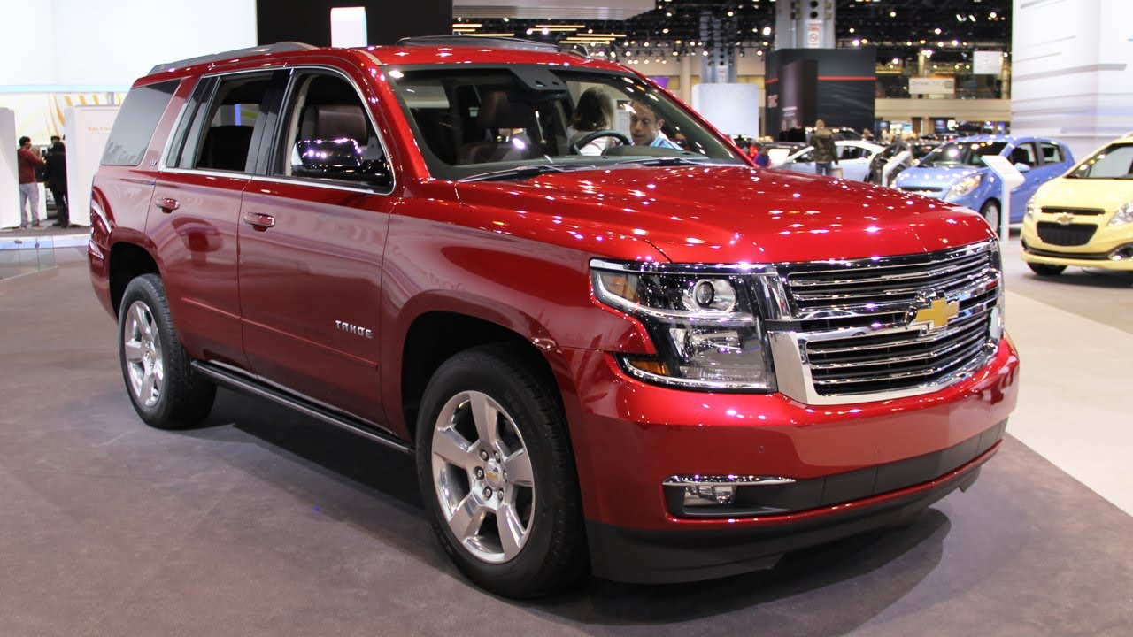 Tahoe 2015 chevrolet tahoe msrp : 2015 Chevrolet Tahoe - new full-size SUV - YouTube