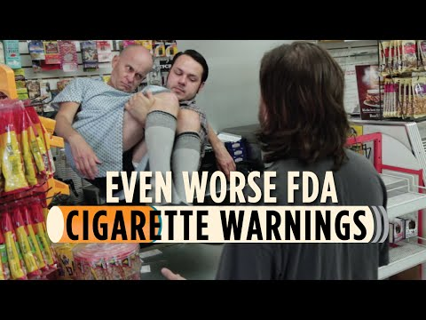 Even Worse FDA Cigarette Warnings