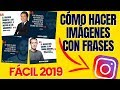 Fotos con frases para INSTAGRAM 2020 - YouTube