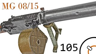 Small Arms of WWI Primer 105: German MG 08/15
