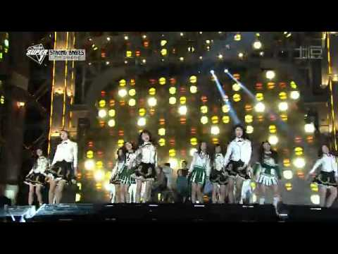 2014 Gayo DaeJeon New Artists collaboration [Move Like A Jagger]
