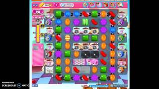 Candy Crush Level 1458 help w/audio tips, hints, tricks