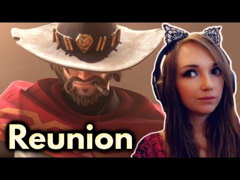 """Reunion"" - Overwatch Animated Short - REACTION"
