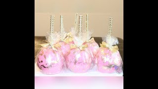 Pink Candy Apple Tutorial (part 2)