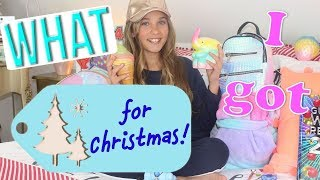 GUESS WHAT I GOT FOR CHRISTMAS?! | Rosie McClelland