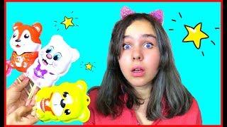 Canción de La Familia Dedo  and video for kids Candys  Version