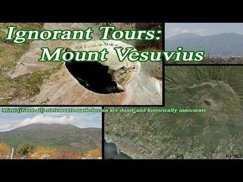Ignorant Tours: Mount Vesuvius - Google Maps