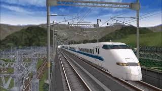 新VRM3★仮想越河駅レイアウト完成No73 300系東北新幹線