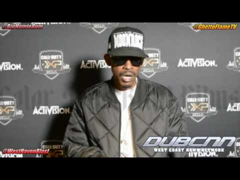 Kurupt & RedRum Interview @ Call of Duty/Activision Video Game Release