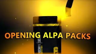 OPENING ALPHA PACKS - Tom Clancy's Rainbow Six (4K Stream)