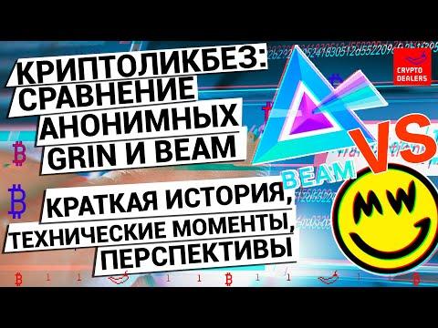 Кто лучше? Криптовалюты Grin VS Beam