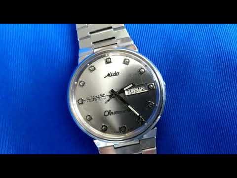 62be9612505 Jam Mido Ocean Star Chronometer - YouTube