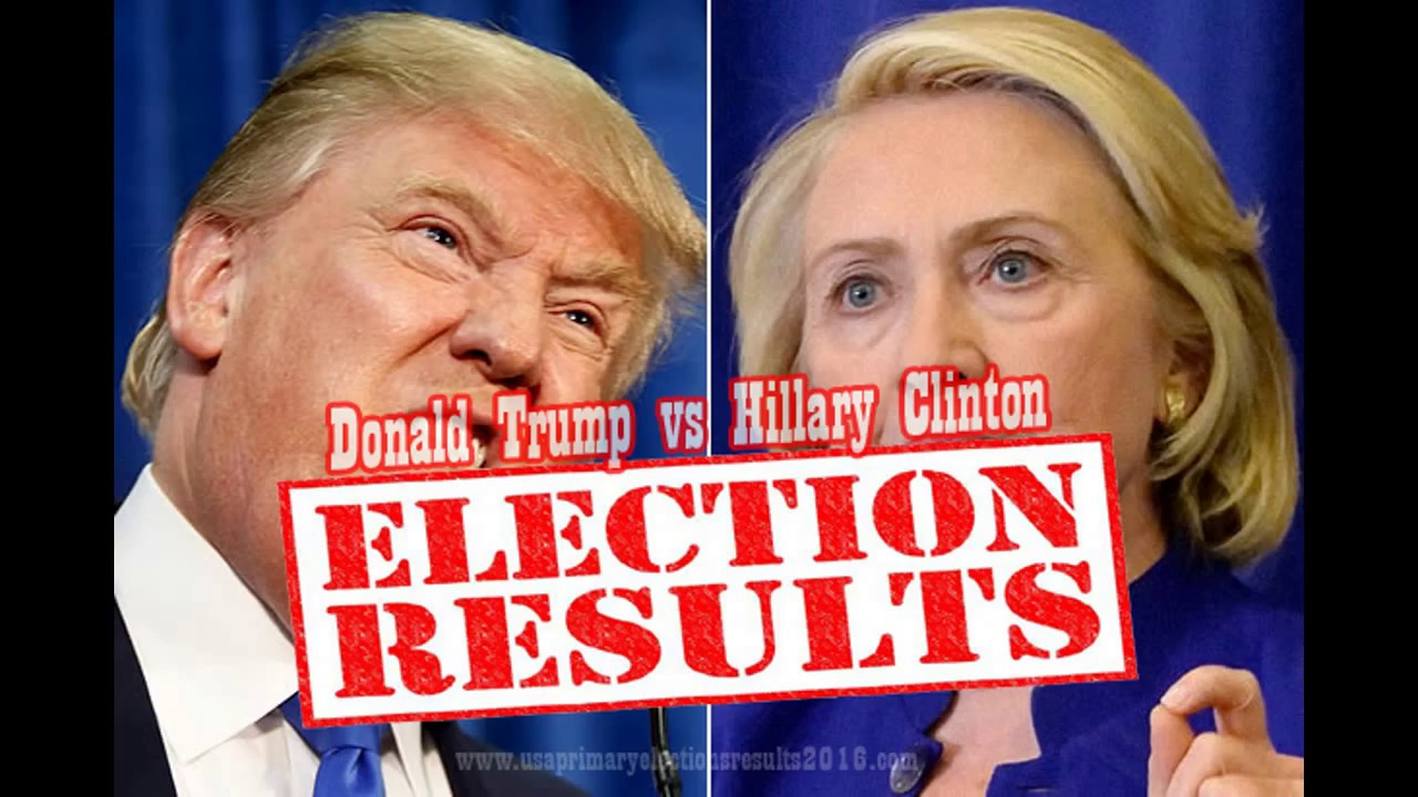 presidential election results 2016 donald trump vs hillary clinton will we know who won youtube. Black Bedroom Furniture Sets. Home Design Ideas