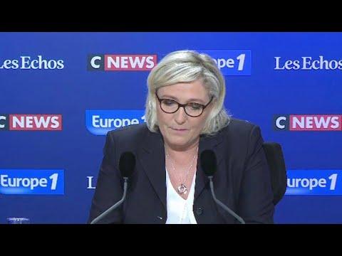 """Marine Le Pen dénonce les pistes """"inadmissibles"""" de Macron pour organiser l'islam en France"""