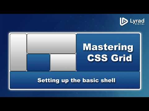 CSS Grid - Chat Application Example - Building The Shell