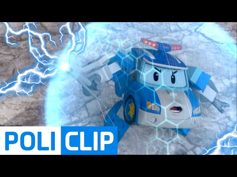 CAUTION LIGHTNING (Korean) | Robocar Poli Clips
