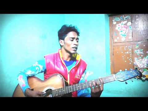 Moner Kinare Guiter Cover & Chords // Raj...