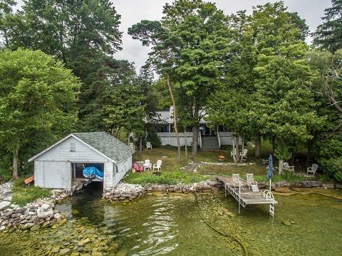 Modern Century Cottage Lake Couchiching Video Tour