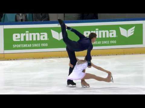 2016 ISU Junior Grand Prix - Dresden - Pairs Free Skate - Anna DUSKOVA / Martin BIDAR CZE