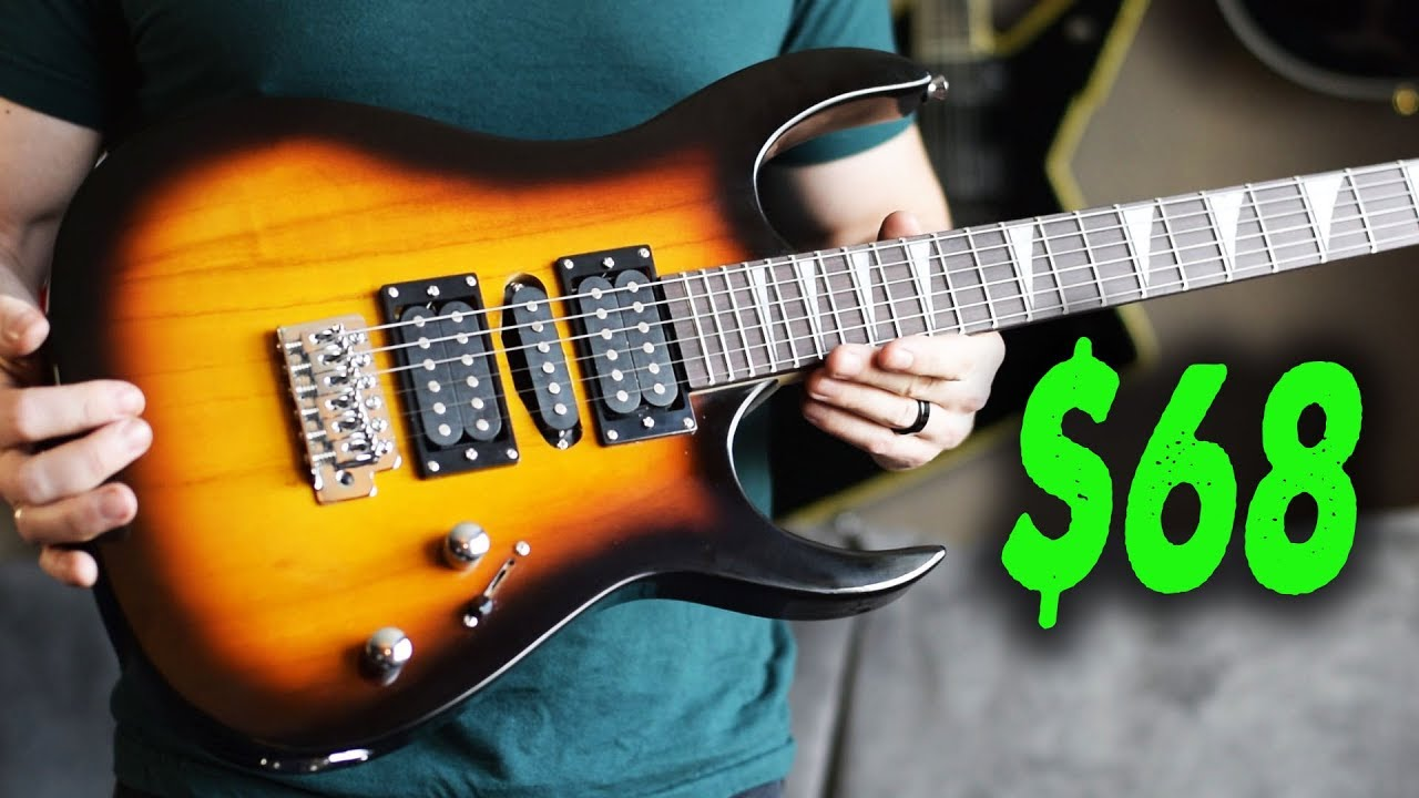 The $68 Shred Guitar! (Ibanez RG copy) - Demo / Review