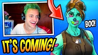 NINJA REACTS TO THE GHOUL TROOPER SKIN COMING BACK! *RARE* Fortnite FUNNY & SAVAGE Moments