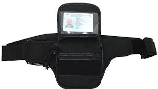 """Видео обзор сумки-кобуры для скрытого ношения пистолета Flash от """"Hasta""""."""