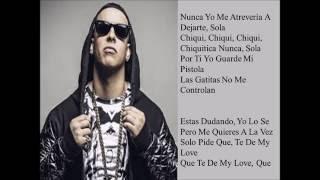 Chino & Nacho Ft. Daddy Yankee, Don Omar & Wisin - Andas En Mi Cabeza [Official Remix - Letra]