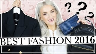 THE BEST FASHION PRODUCTS I BOUGHT IN 2016  FASHION FAVOURITES THE BEST FASHION PRODUCTS I BOUGHT IN 2016  FASHION FAVOURITES My favourite luxury fashion purchases of 2016 SUBSCRIBE for two videos a ...