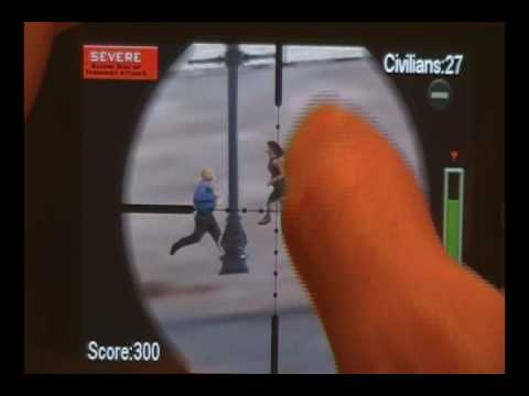 Super Sniper II iPod Touch 2G App Review