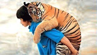 जानवर से इंसान की ऐसी दोस्ती कहीं नहीं देखी होगी  EXAMPLES OF FRIENDSHIP OF PEOPLE WITH WILD ANIMALS