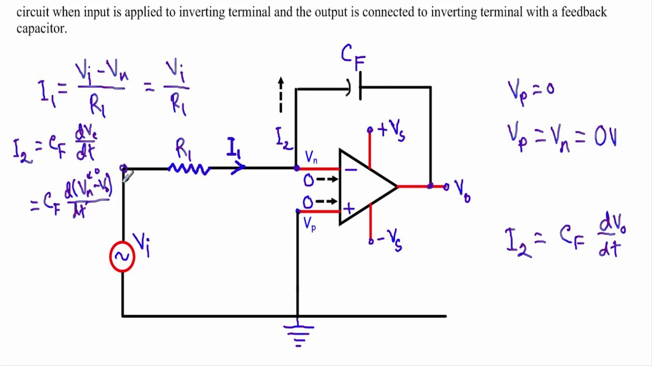 Op Amp Adder Subtractor Circuit Download Wiring Diagrams Integrator W Subtitles Youtube Applications Comparator Circuits