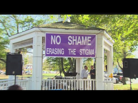 Families Speak About Stigma Of Opioid Addiction At 'No Shame Rally'