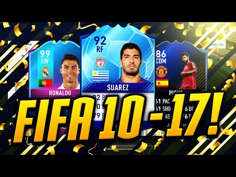 FIFA 10-17 - THE TOTY BEST PLAYERS, HOW THEY CHANGED IN FUT! #1