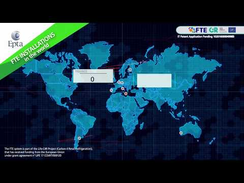 FTE Full Transcritical Efficiency installations in the world