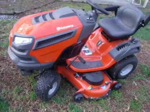 Donnie D's Husqvarna YTH 24V48 first look