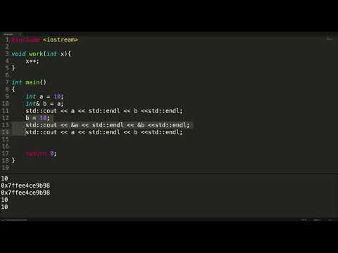Working with References in C++