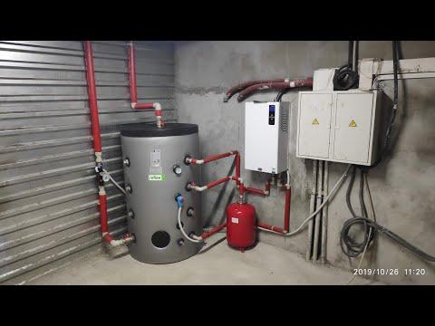 Отопление цеха тепловентиляторами Volcano Ec Vr1. Электрокотел Тенко премиум плюс 30 380в.