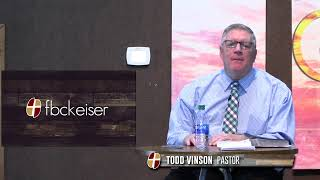 "FBC Keiser  -  February 21, 2021  -  ""God's Love and Ours"""