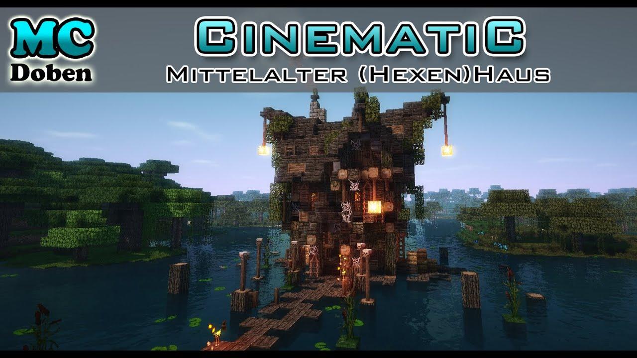 Minecraft Mittelalter Haus Hexenhaus Cinematic YouTube - Minecraft mittelalter haus map