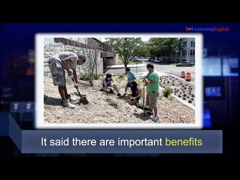 Học từ vựng qua bản tin ngắn: Benefit (VOA)