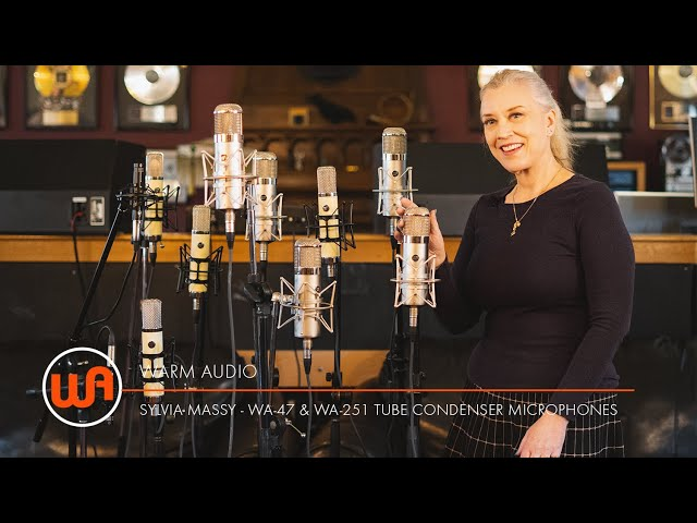 Warm Audio // Sylvia Massy compares U47 to Warm Audio tube mics