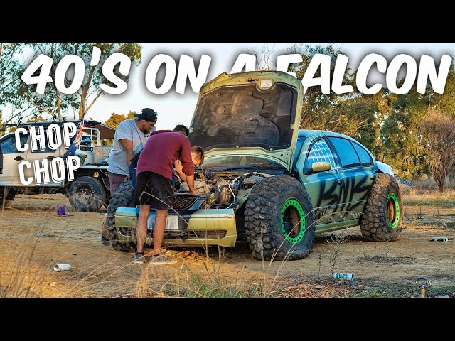 BUILT NOT BOUGHT Special || We Put 40's On A Falcon!!